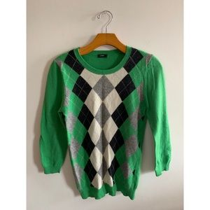 J. Crew | argyle sweater
